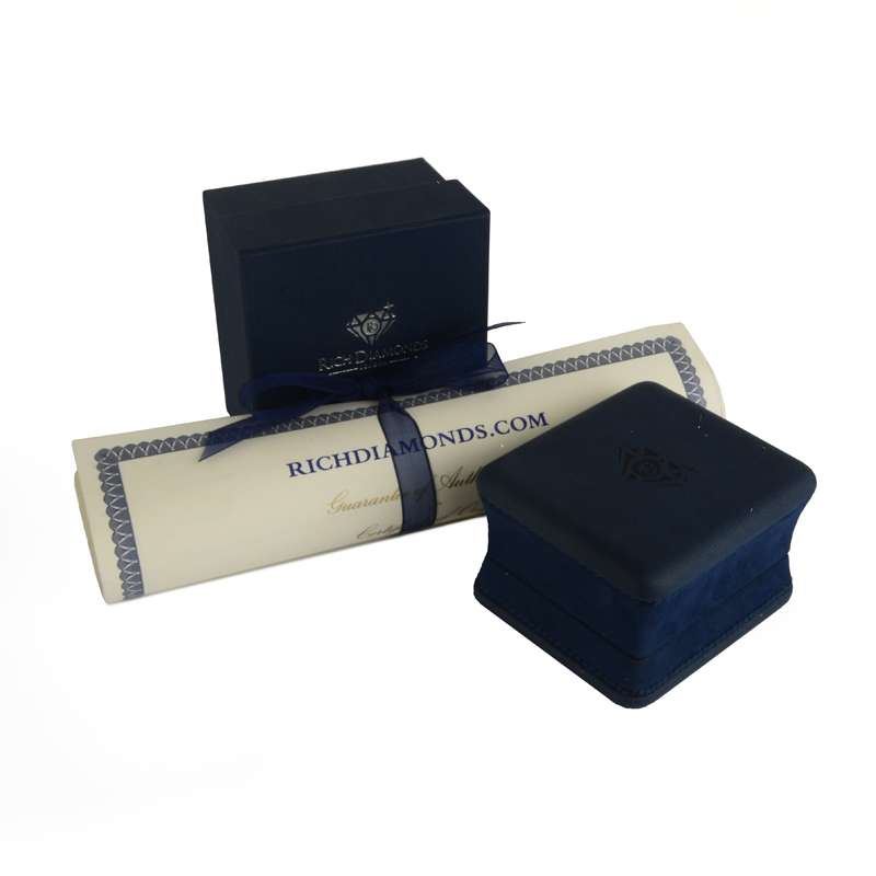 Rose Gold Diamond Cluster Ring 0.54ct G-H/VS-VVS
